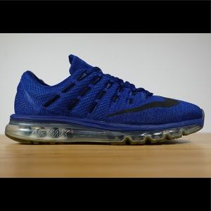 promo code 8a03e be33f Nike Shoes - Nike Air Max 2016 Deep Royal Blue Black Racer